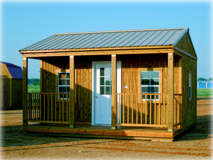 Shed plans 8x12 storage shed with side porch for Side of the house storage shed
