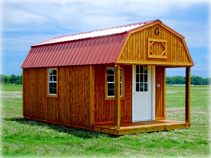 Graceland Lofted Barn Cabin Discount Portable Buildings