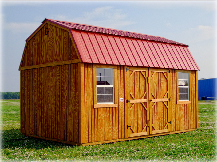Graceland Side Lofted Barn Discount Portable Buildings